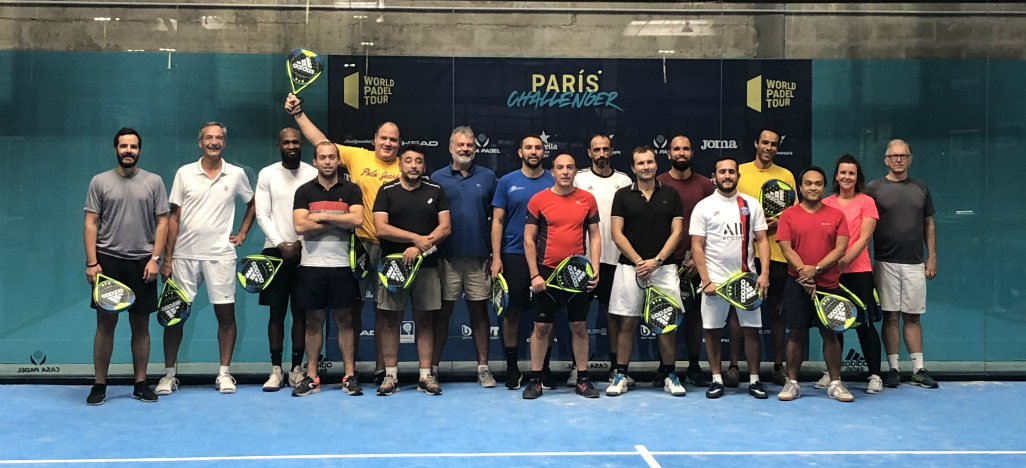 Photographie des participants du data padel trophy